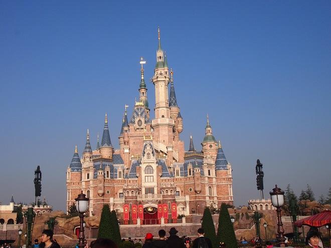 上海ディズニー1