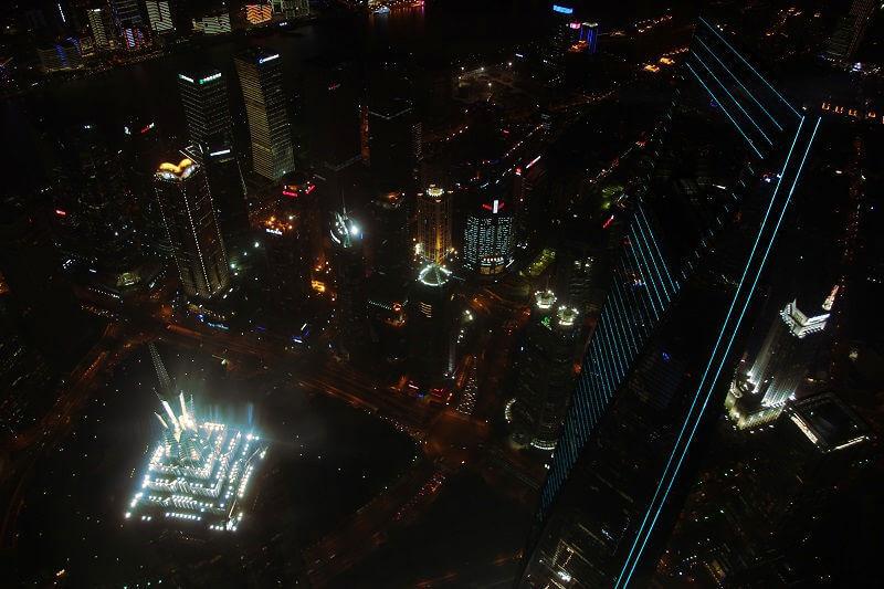 上海中心夜景