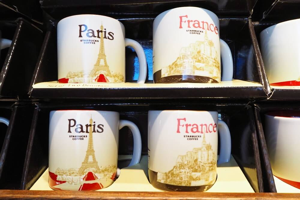 パリのスタバのタンブラー