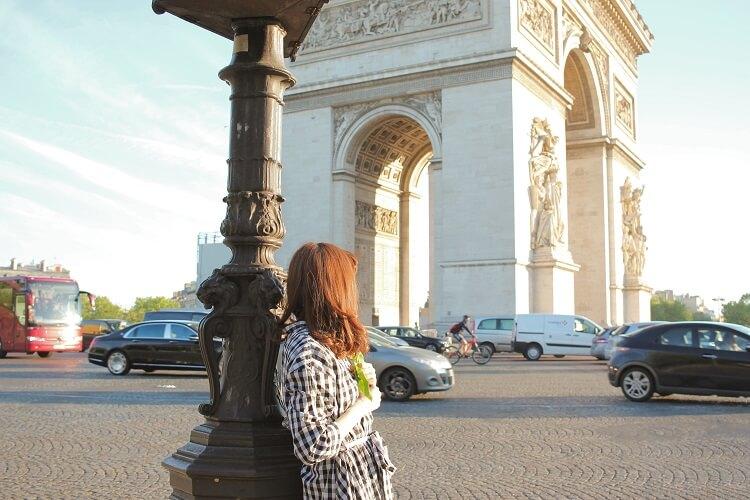 パリ凱旋門23