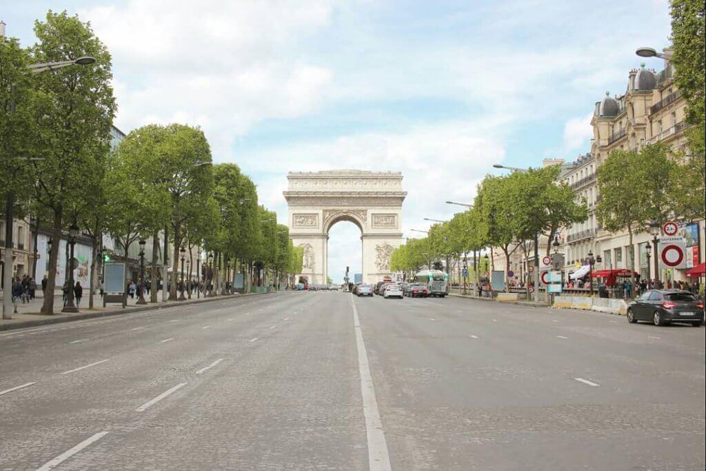 パリ凱旋門1