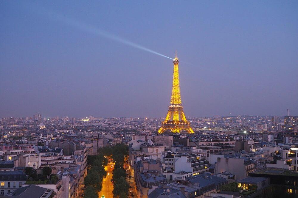 パリ凱旋門10
