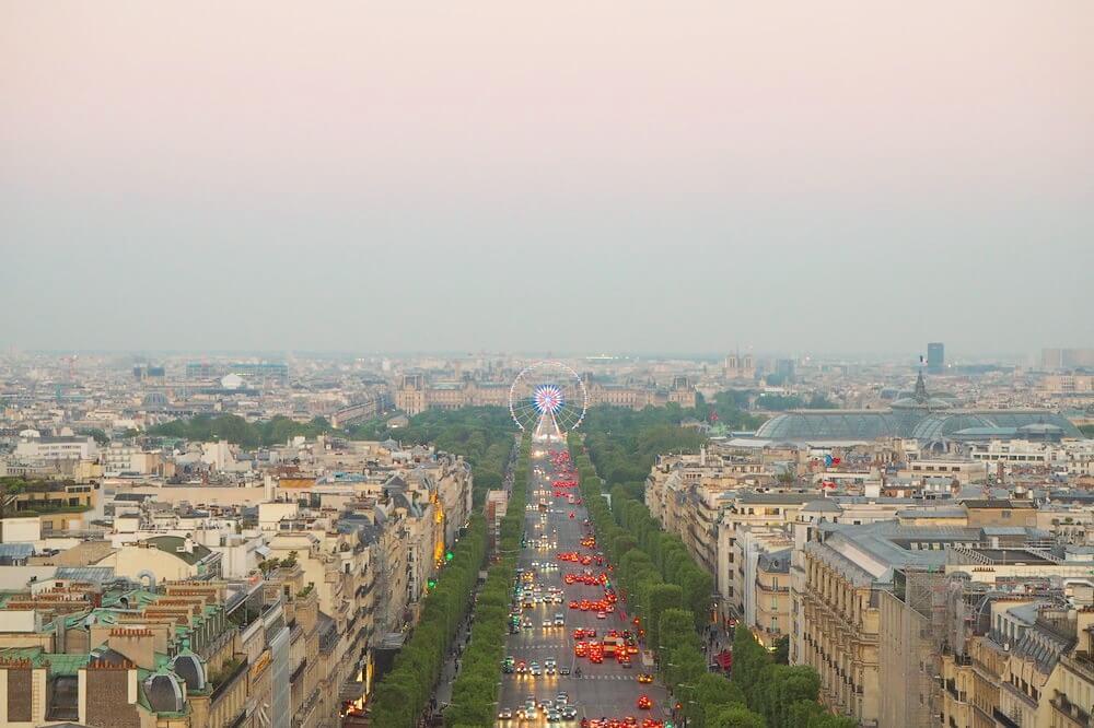 パリ凱旋門19