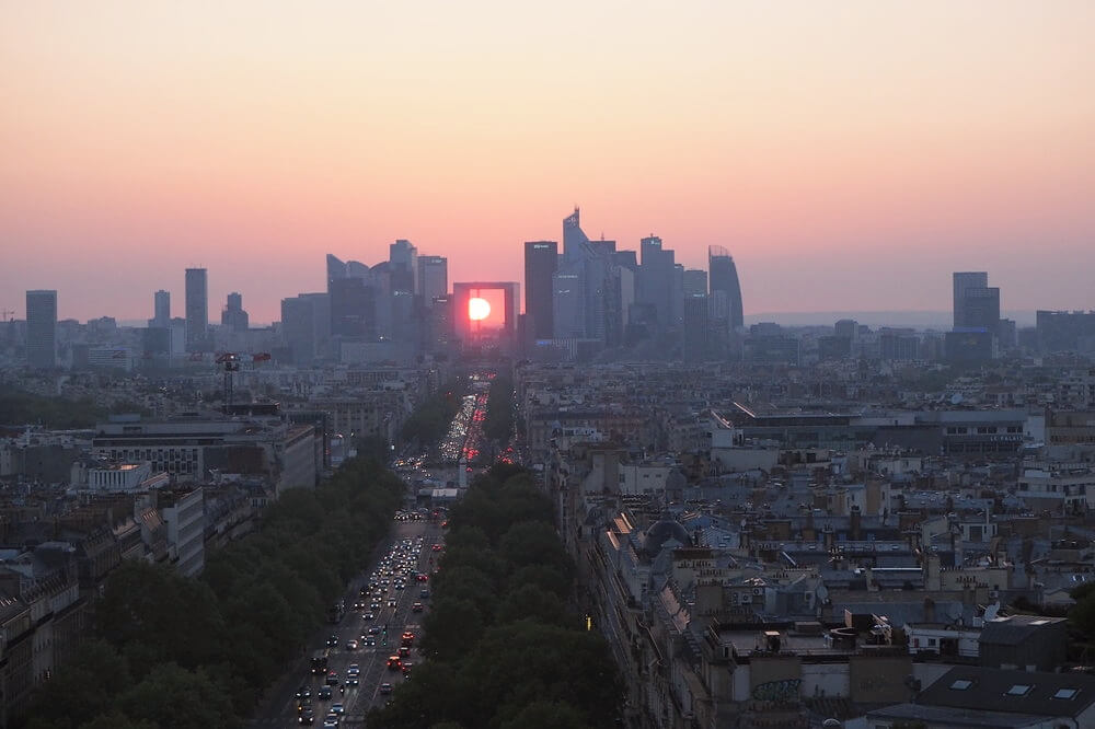 パリ凱旋門18