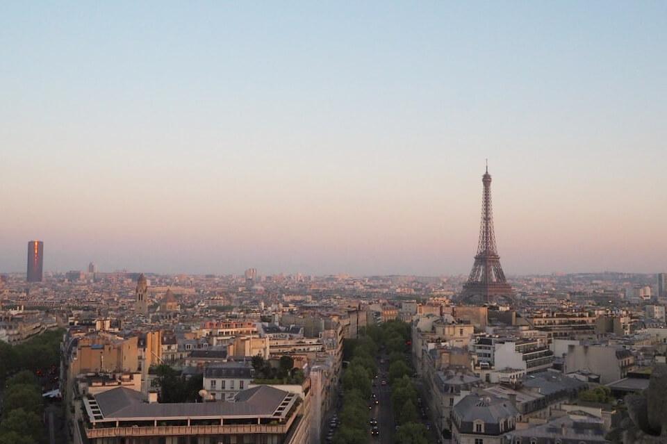 パリ凱旋門9