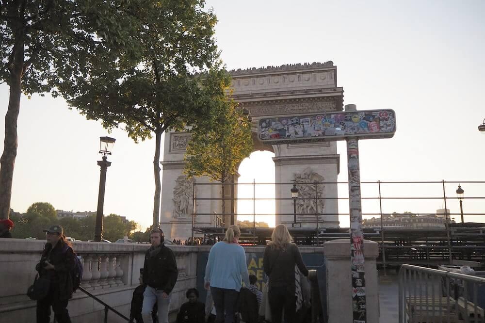 パリ凱旋門7