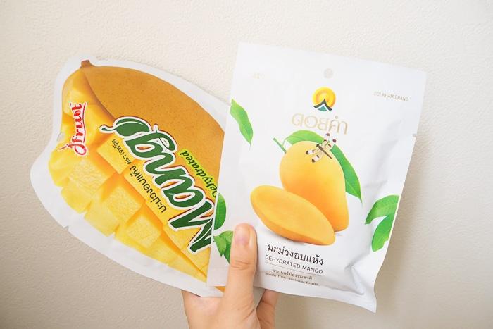 タイのドライマンゴー