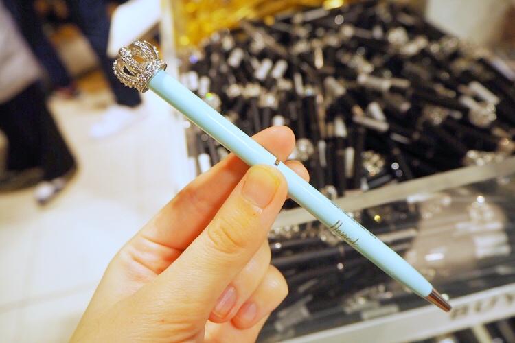 ハロッズのボールペン
