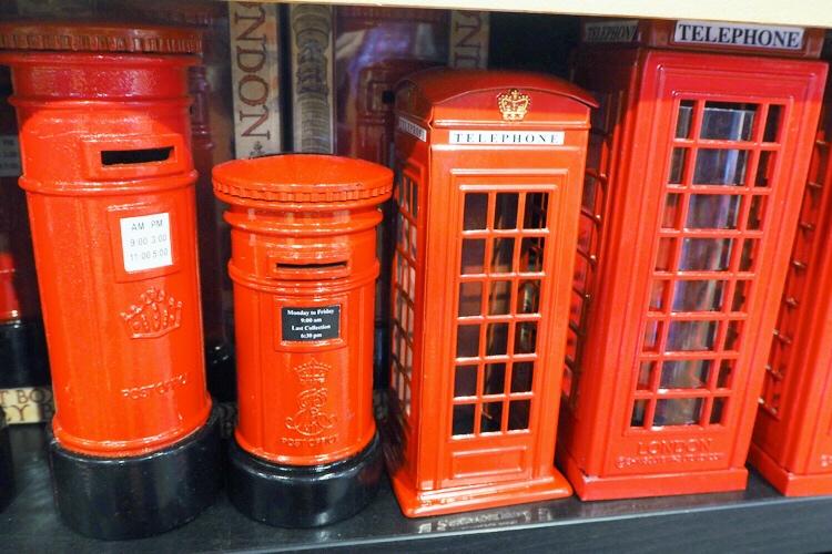 ロンドンバスの貯金箱