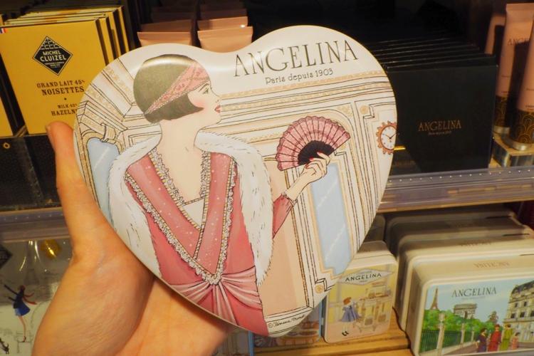 アンジェリーナのチョコレート