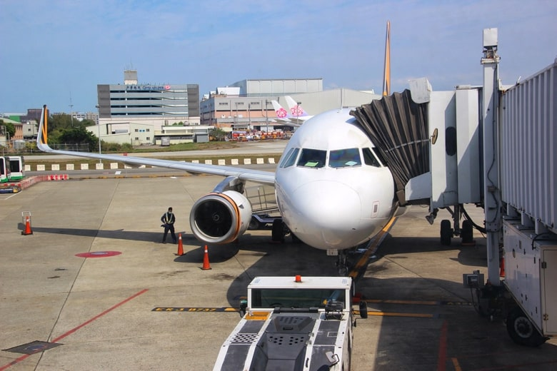 台湾の飛行機