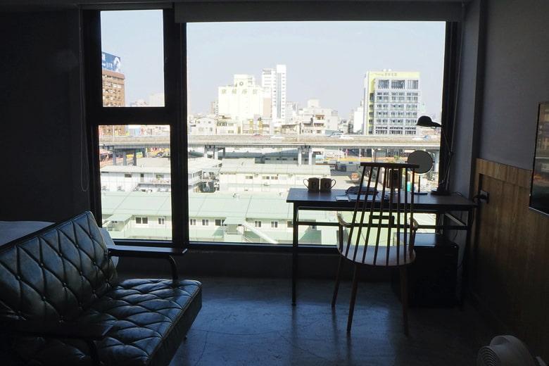 パポアホテルからの眺め