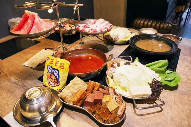 食焱廠創意鍋物のお鍋のセット