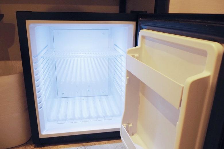 パポアホテルの冷蔵庫