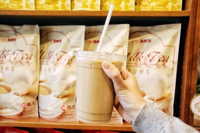 基諾飲品のミルクティー2