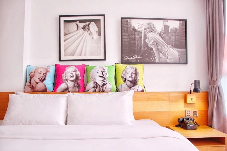 1969ブルースカイホテルのマリリンモンローのお部屋