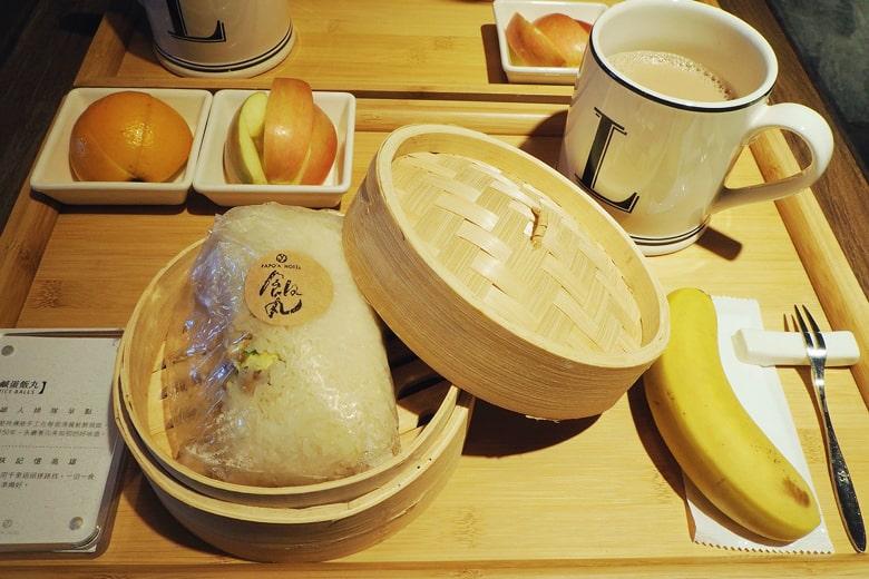 パポアホテルの朝食
