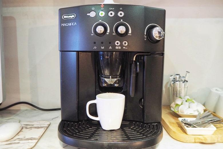 パポアホテルのコーヒーサービス