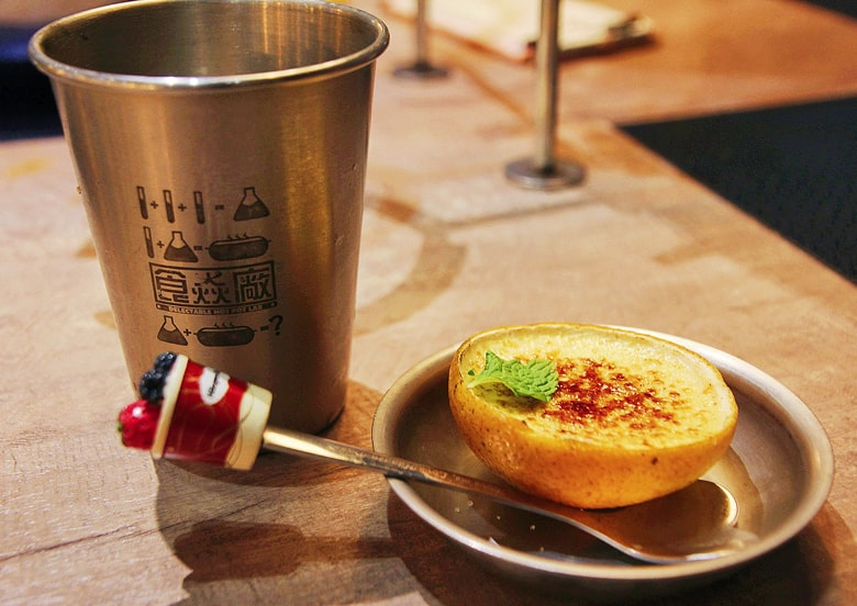 食焱廠創意鍋物のクレームブリュレ