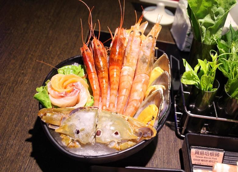 八海の海鮮火鍋