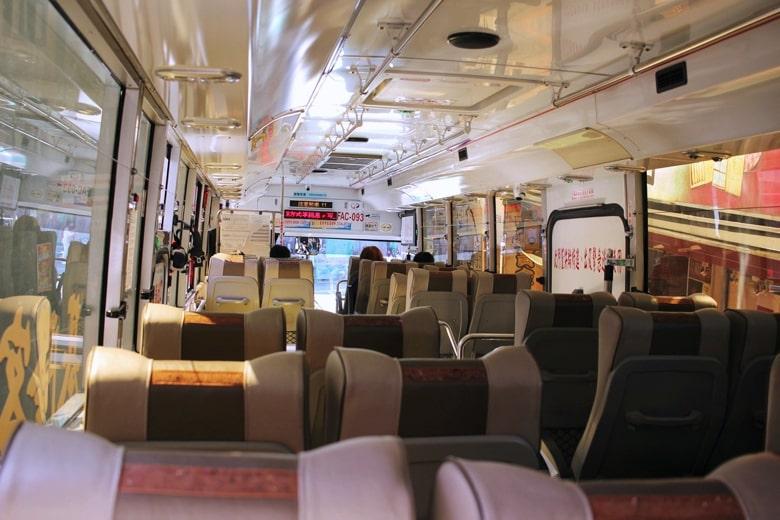 九份へのバス