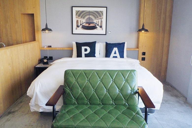 パポアホテルのスーペリアダブルルーム