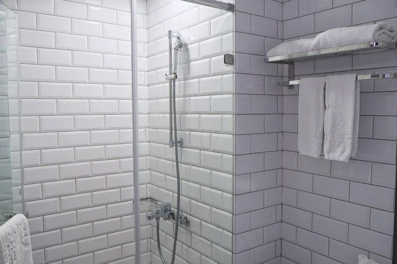 ブルースカイホテルのバスルーム