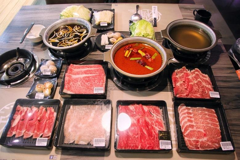 沐樺精緻涮涮鍋のお肉